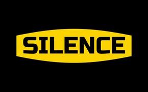 Картинка надпись, слово, silence, молчание