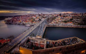 Картинка Португалия, Porto, Порту, Old City