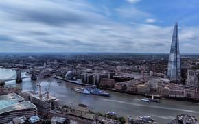 Картинка город, панорама, London
