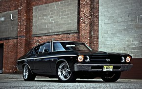 Картинка Muscle, Car, Classic, Chevy, Chevelle SS