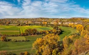 Картинка осень, пейзаж, Германия, панорама, Баден-Вюртемберг