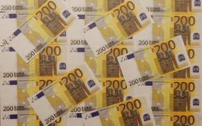 Картинка деньги, валюта, купюры, широкоформатные, background, обои на рабочий стол, money, euro, полноэкранные, HD wallpapers, 200, …