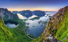 Картинка Norway, Lofoten Islands, Lofoten, Reinebringen