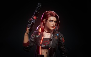 Картинка rpg, video game, night city, CD Projekt RED, Cyberpunk 2077, Cyberpunk