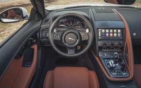 Картинка Jaguar, Интерьер, F-Type, 2020, Jaguar F-Type P450 R-Dynam