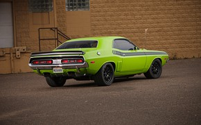 Картинка Classic, Dodge Challenger, Coupe, Muscle car, Hemi, Vehicle