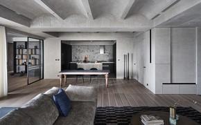 Картинка дизайн, стиль, интерьер, кухня, гостиная, столовая, by Peny Hsieh Interiors, Serenity in the City