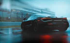 Картинка McLaren, Авто, Машина, Рендеринг, Спорткар, Game Art, 720S, McLaren 720S, Transport & Vehicles, by FRZ …