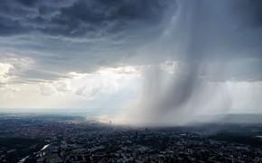 Картинка Lietuva, Vilnius, lietus
