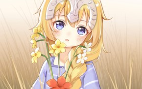 Картинка девушка, улыбка, девочка, Fate/Apocrypha, Fate - Apocrypha, Joan of Arc, Судьба Апокриф