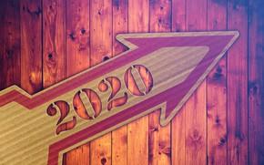 Картинка доски, стрелка, 2020