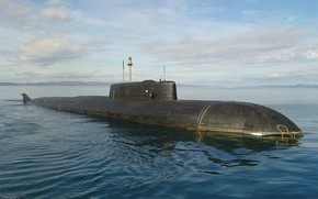 Обои субмарина, вмф, проект 949а, атомоход