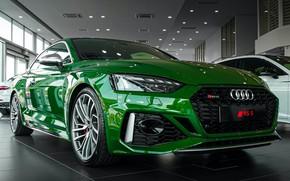 Картинка Audi, ауди, зеленая