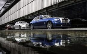 Картинка вода, Rolls-Royce, Ghost, 2019