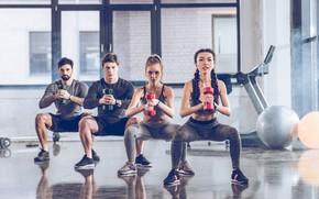 Картинка group, workout, fitness