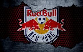 Картинка wallpaper, sport, logo, football, New York Red Bulls