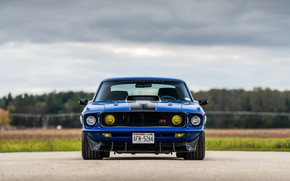 Картинка Ford, 1969, Фары, Ford Mustang, Muscle car, Mach 1, Classic car, Sports car, Ford Mustang …