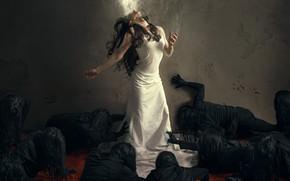 Картинка девушка, страх, ситуация