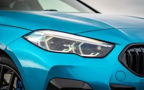 Картинка фара, BMW, Gran Coupe, UK-spec, 2-Series, M Sport, 2020, 218i, F44