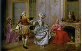 Картинка танец, BRUNERY, THE MINUET