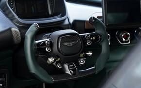 Картинка Aston Martin, купе, руль, V12, Victor, 2020