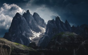 Картинка небо, пейзаж, горы