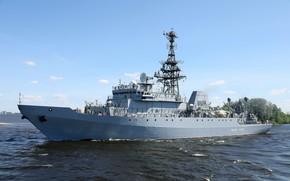 Картинка корабль, балтика, средний, разведовательный