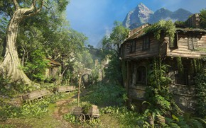 Картинка Naughty Dog, Playstation 4, Uncharted 4: A Thief's End, Либерталия