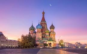 Картинка город, Москва, Собор Василия Блаженного