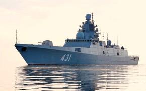 Картинка фрегат, Адмирал Касатонов, проект 22350