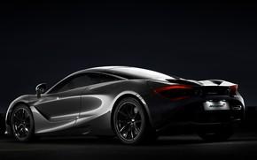 Картинка Авто, Ночь, Машина, Серый, Transport & Vehicles, McLaren 720s, by Damian Bilinski, Damian Bilinski, McLaren ...