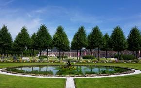 Картинка парк, фото, Germany, Schwetzingen Palace