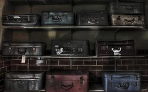 Картинка полки, чемоданы, камера хронения