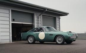Картинка Aston Martin, Гараж, Classic, 2018, Classic car, 1958, DB4, Sports car, Aston Martin DB4 GT …