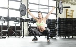 Картинка взгляд, фото, фигура, pose, атлет, workout, тренажерный зал, fitness, gym, training, Gym, crossfit, CrossFit, Camille …