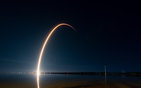 Картинка falcon, rocket, spacex