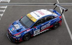 Картинка Subaru, 2017, Subaru WRX, STI Performance, Subaru WRX STI Race Car, Subaru WRX STI