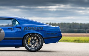Картинка Ford, Дорога, Диск, Колесо, 1969, Ford Mustang, Muscle car, Mach 1, Classic car, Sports car, …