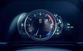Картинка Lexus, спидометр, приборная панель, LC 500, 2019, Inspiration Series