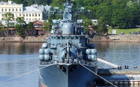 Картинка эсминец, корабль-музей, Беспокойный