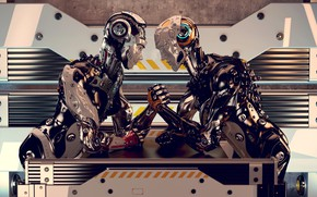 Картинка fantasy, energy, robots, force, sci fi