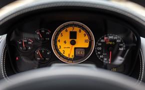 Картинка Ferrari, F430 Spider, Панель приборов