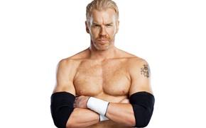 Картинка взгляд, тату, рестлер, Кристиан, WWE, Christian, William Jason Reso, ведущий, канадский актёр