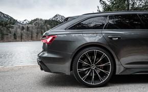 Картинка Audi, колесо, ABT, Avant, RS6, RS 6, 2020