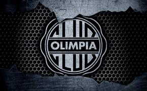 Картинка wallpaper, sport, logo, football, Olimpia Asuncion