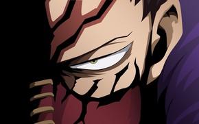 Картинка глаз, минимализм, Boku no Hero Academia, My Hero Academia, Моя Геройская Академия