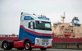 Картинка Volvo, судно, седельный тягач, 4x2, Volvo FH, FH LNG 460, СПГ