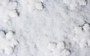 Картинка зима, белый, снег, снежинки, фон, white, winter, background, snow, snowflakes