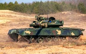 Картинка танк, учения, Т-80 БВ