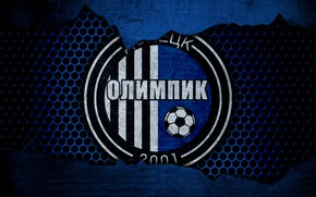 Картинка wallpaper, sport, logo, football, Olimpik Donetsk